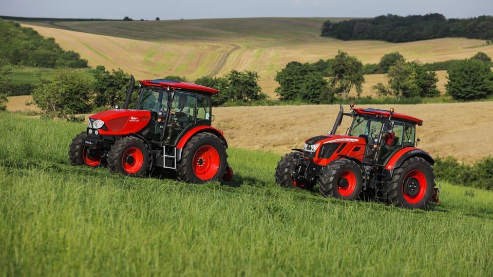 Tractores Zetor,  foto: gentileza departamento de marketing y comunicación Zetor