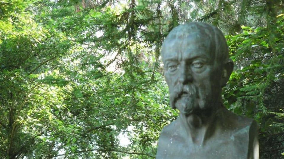 Busto de Masaryk en San Francisco,  foto: Eric E Castro,  CC BY-NC 2.0