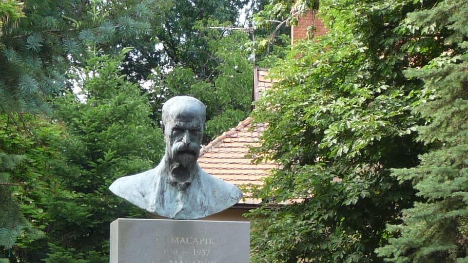 Estatua de Masaryk en Úzhgorod,  foto: Dagmar Hájková