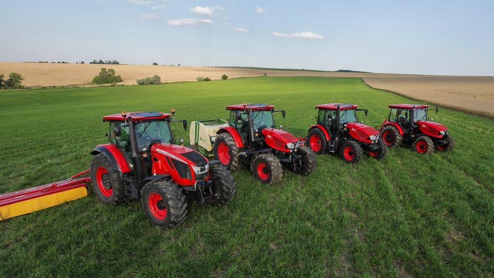 Tractores Zetor en acción,  foto: gentileza departamento de marketing y comunicación Zetor