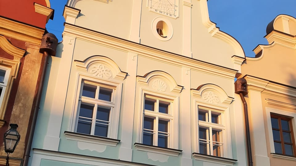 La casa número 49 en la plaza de Zacarías de Hradec,  foto: Lenka Žižková