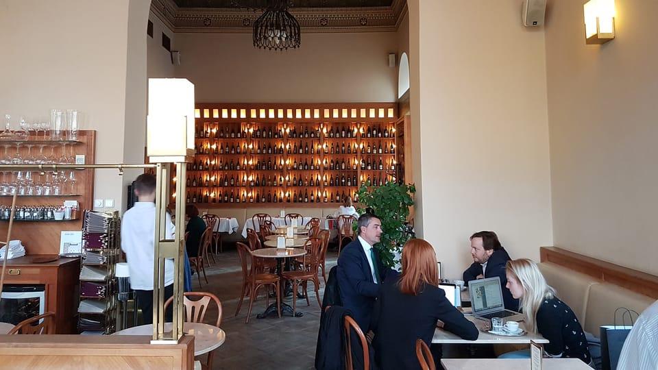 Café Savoy,  foto: Ondřej Tomšů
