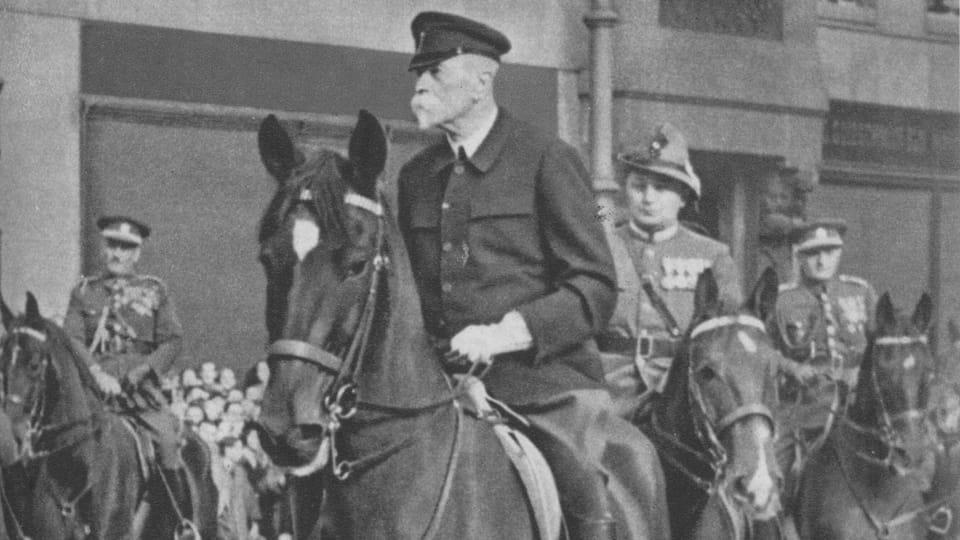 Tomáš Garrigue Masaryk y Hektor,  fuente: el libro TGM v Lánech,  editorial Za svobodu