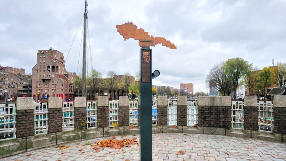 Monumento a Tomáš Garrigue Masaryk en Rotterdam,  foto: Dagmar Hájková