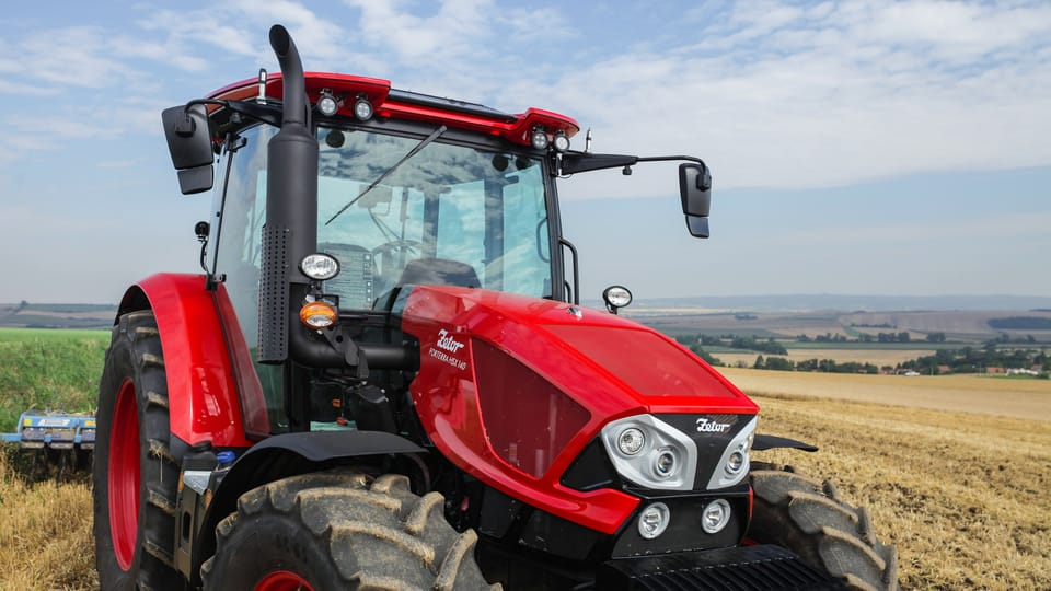 Tractor Zetor,  foto: gentileza departamento de marketing y comunicación Zetor