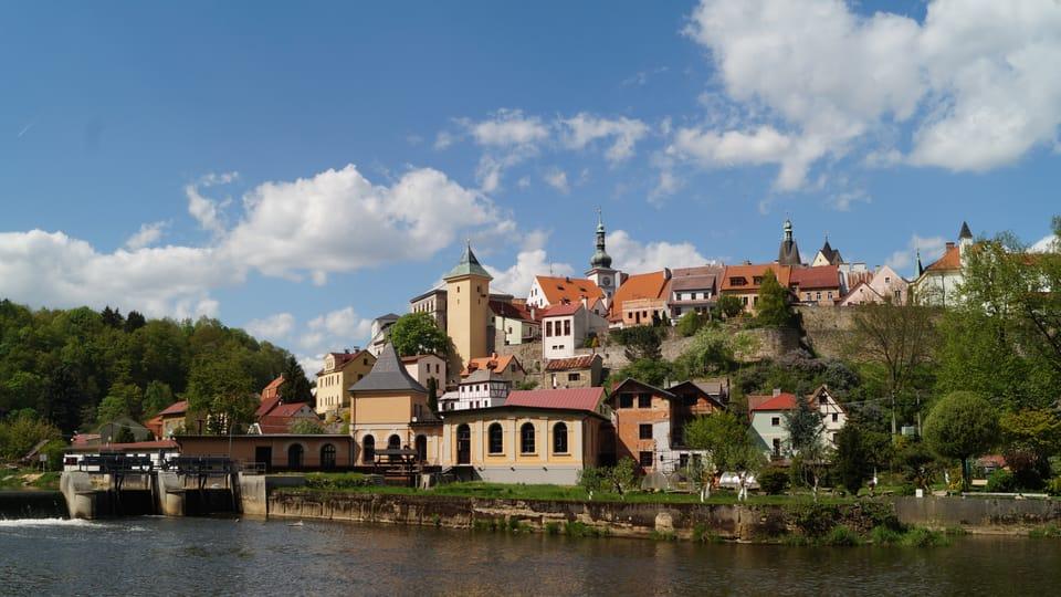 El pueblo de Loket,  foto: Archivo de ČRo - Radio Prague International