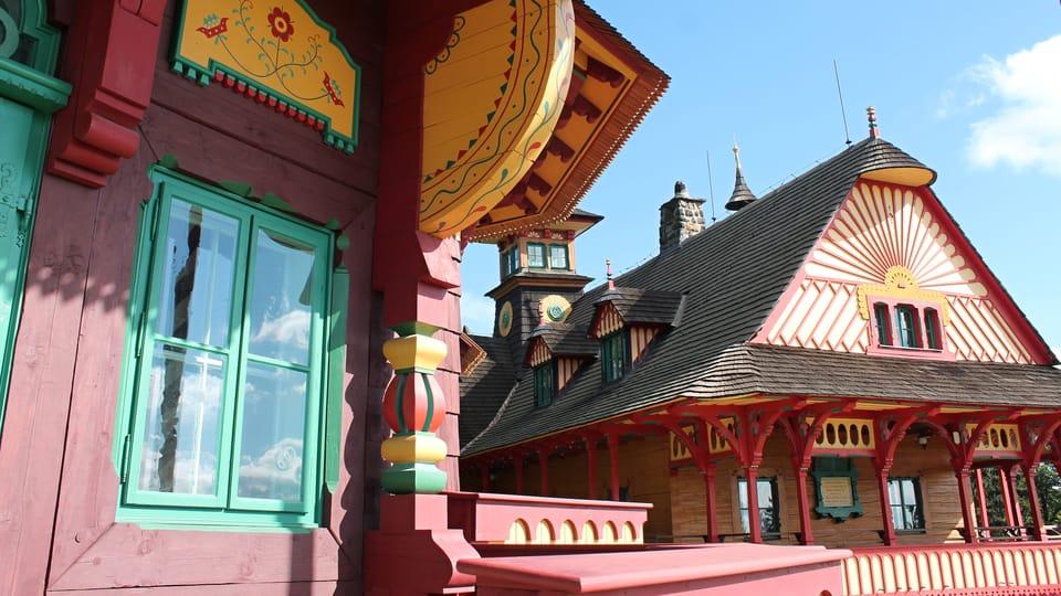La casa Libušín y el hotel Maměnka,  foto: Ondřej Tomšů