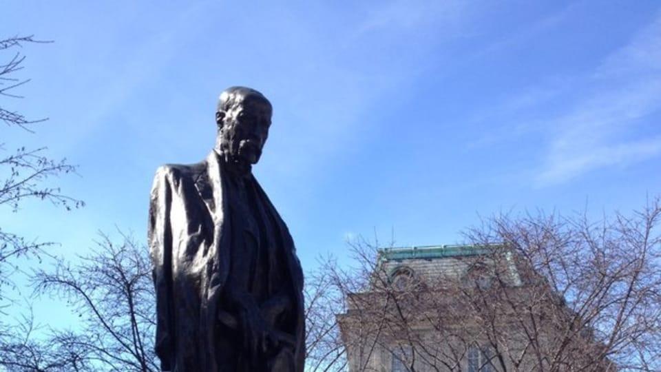 Estatua de Masaryk en Washington,  foto: Nicolas Veron,  CC BY-SA 3.0