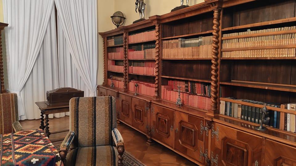 Biblioteca de Podstatzky-Lichtenstein,  Telč,  foto: Klára Stejskalová