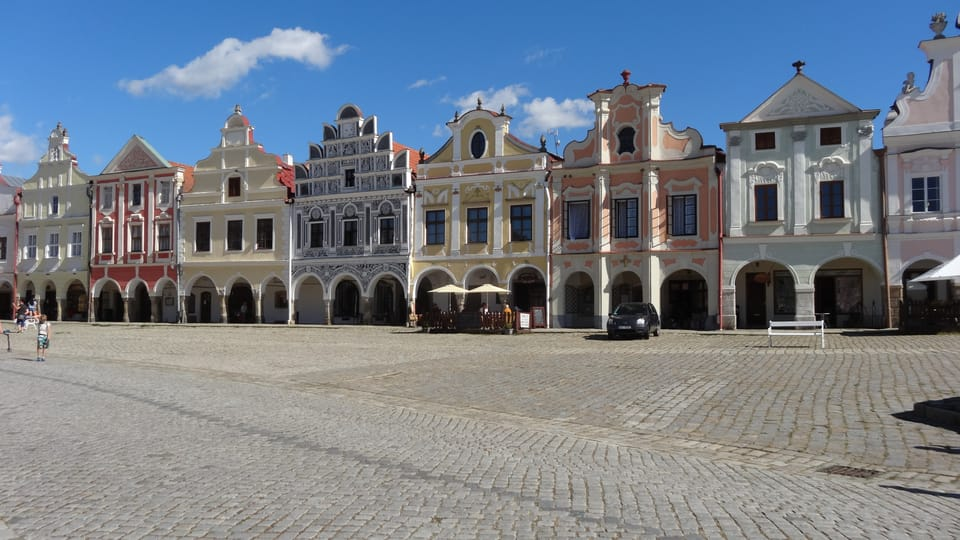 La plaza de Zacarías de Hradec,  foto: Klára Stejskalová