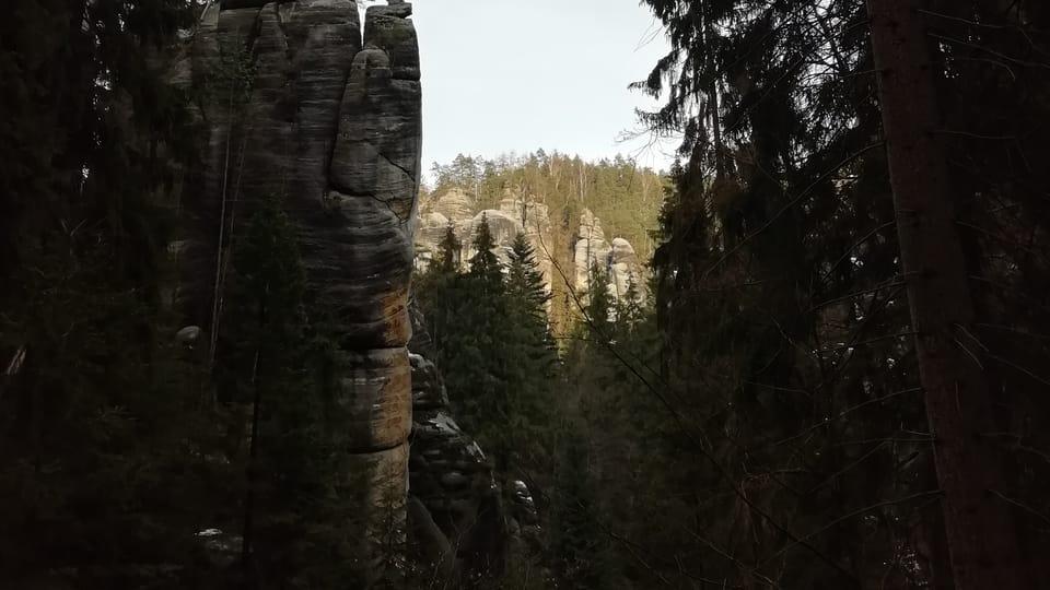 Las rocas de Adršpach-Teplice,  foto: Joseph Le Fer