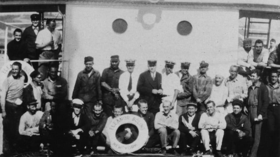 Barco de vapor Eleanor Bolling,  foto: Richard E. Byrd Papers,  #7810_33 / Byrdflight
