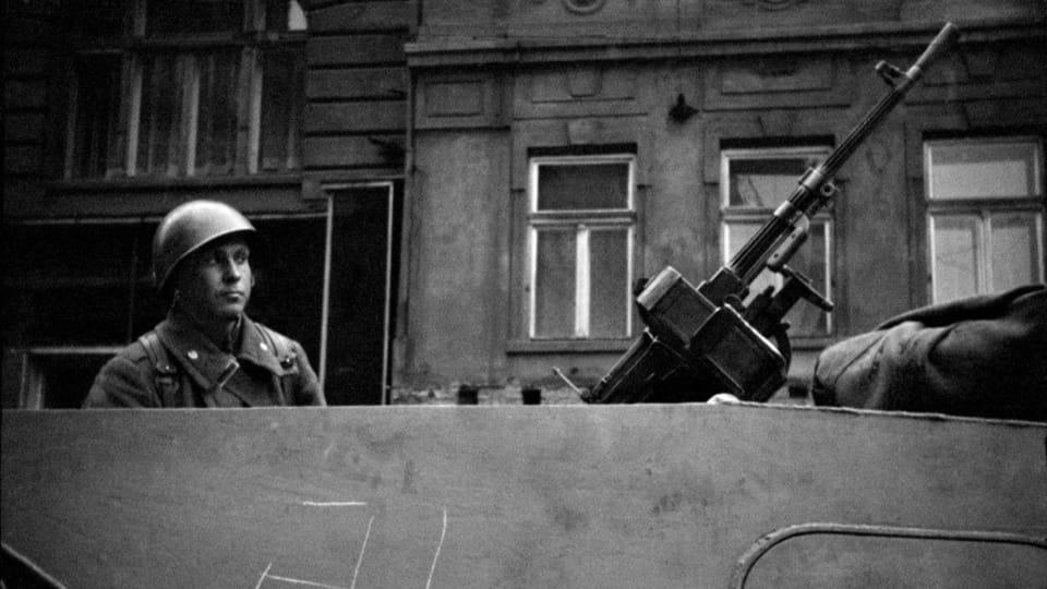 Foto: Jaromír Čejka,  de la exhibición 'Invasión Soviética-Agosto de 1968'