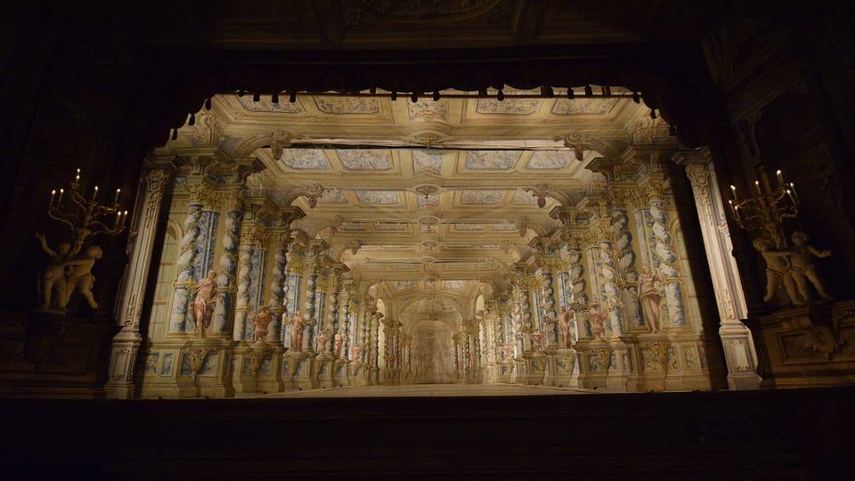 El teatro palaciego,  foto: Ondřej Tomšů