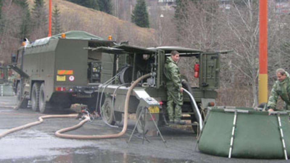 Batallón antiquímico checo,  foto: autora