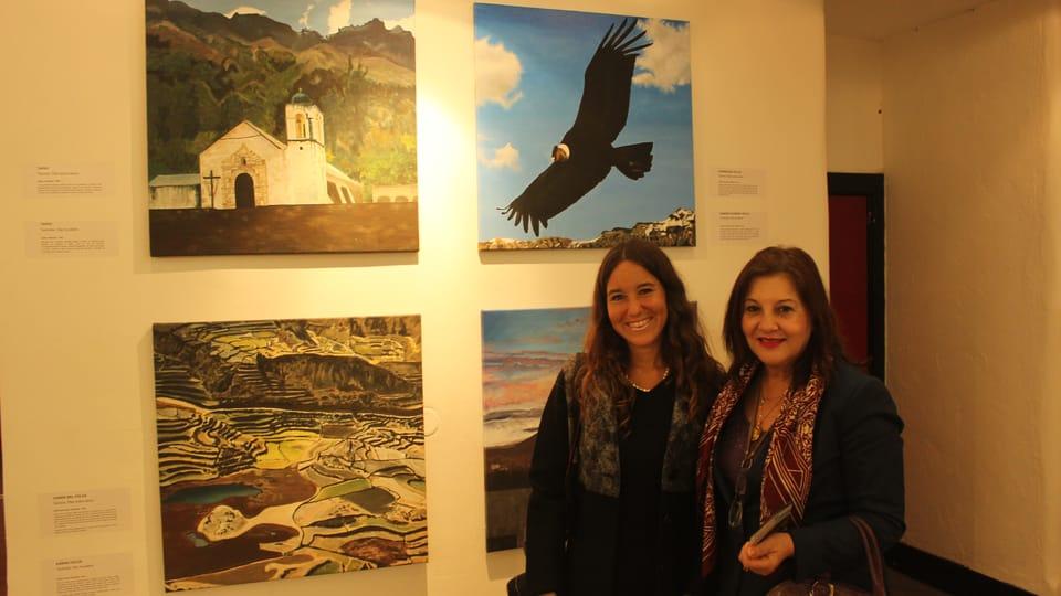 Ximena María Heraud Corazao y Liliana de Torres-Muga,  foto: Tereza Kalkusová