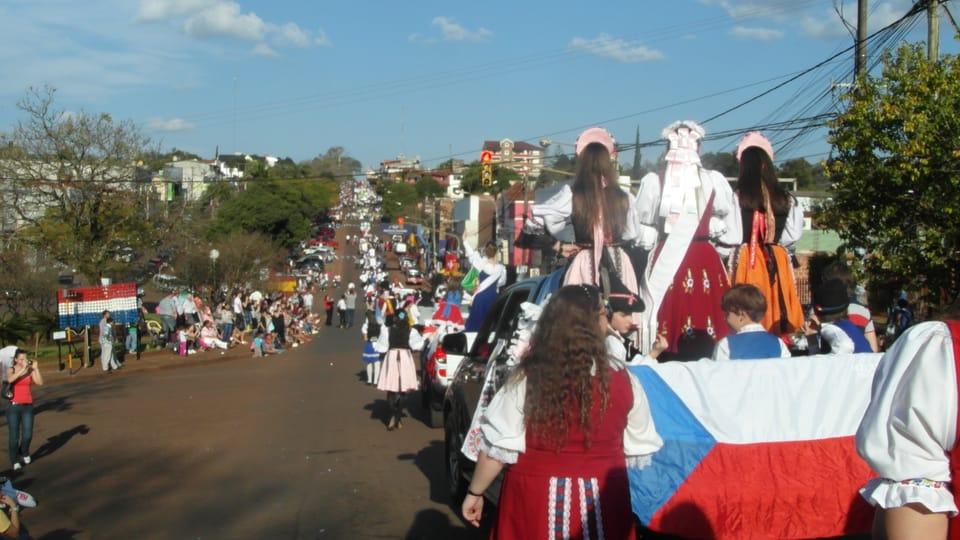 Desfile por Oberá,  foto: Lenka Rašková