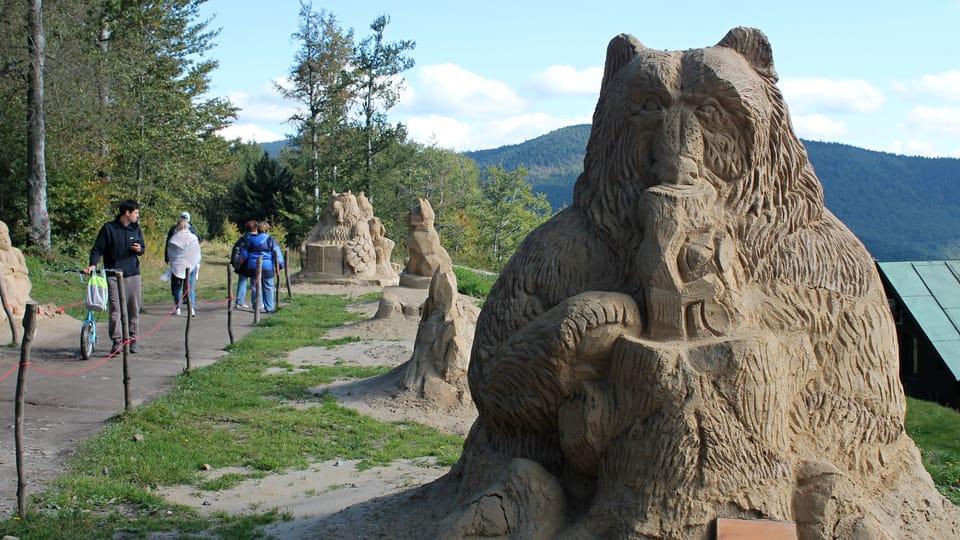 Esculturas de arena de Pustevny,  foto: Ondřej Tomšů