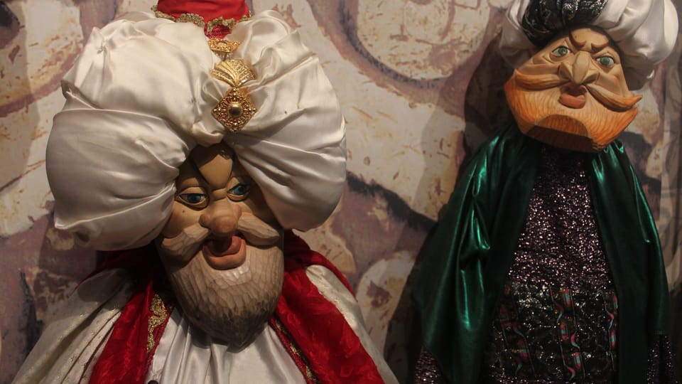 Marionetas del teatro Alfa,  foto: Anna Královcová