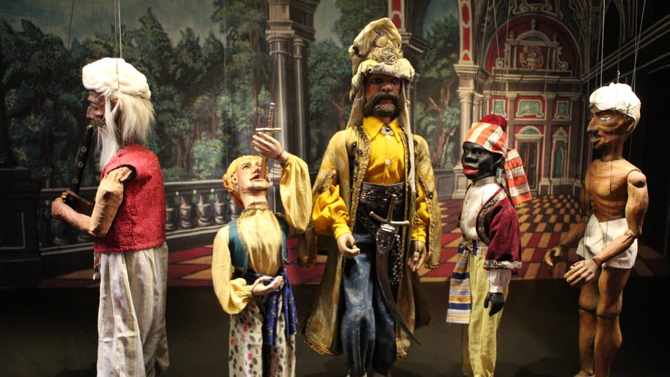 Marionetas del teatro de Karel Novák,  foto: Anna Královcová