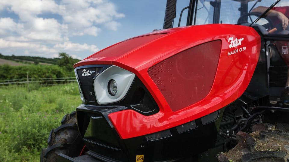 La marca del traktor,  foto: gentileza departamento de marketing y comunicación Zetor