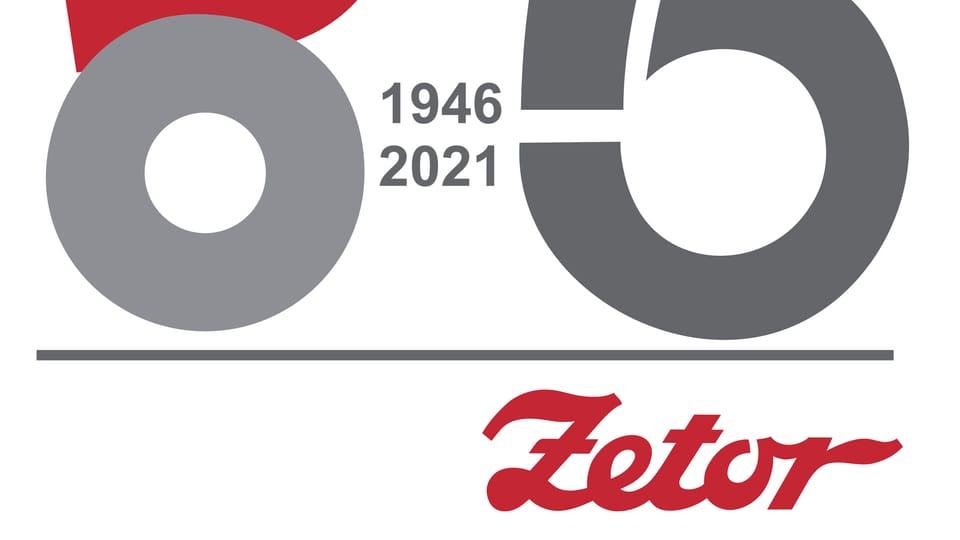 Logo Zetor 75,  foto: gentileza departamento de marketing y comunicación Zetor
