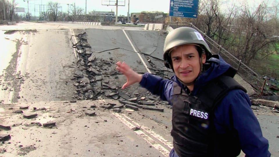 Carlos González-Shanel,  foto: página web de Ceasefire Zone
