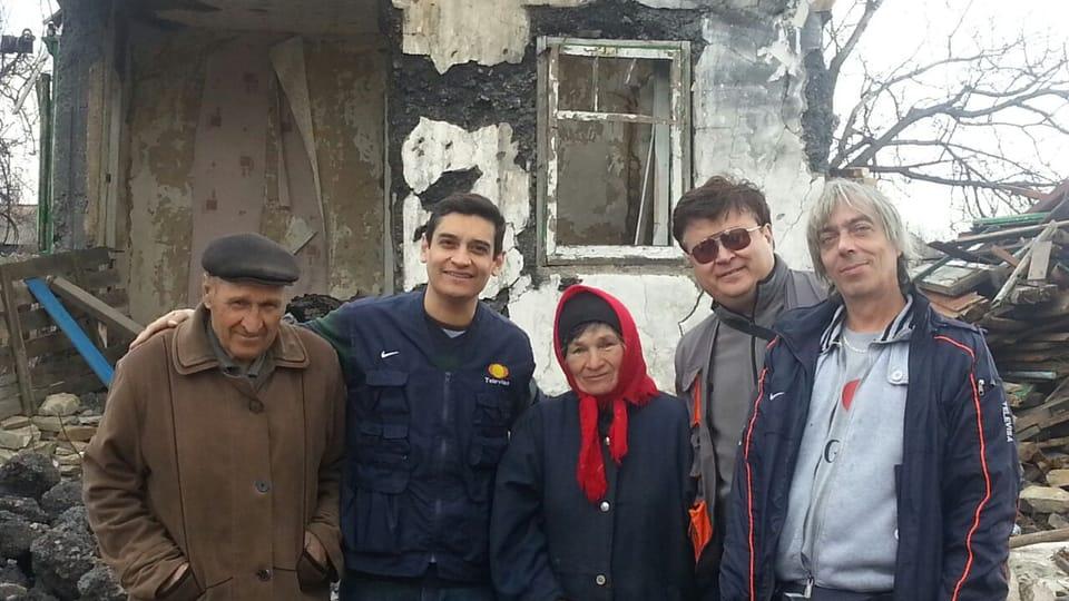 Carlos González-Shanel y Milan Zadělák,  foto: página web de Ceasefire Zone