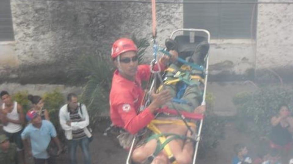 Semana Nacional de Protección contra Incendios en Cuba,  foto: Jorge Verdecia Roberto Ramírez