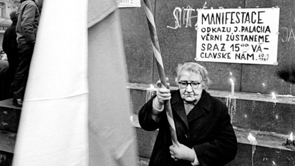 Foto: Přemysl Hněvkovský,  de la exhibición 'Invasión Soviética-Agosto de 1968'