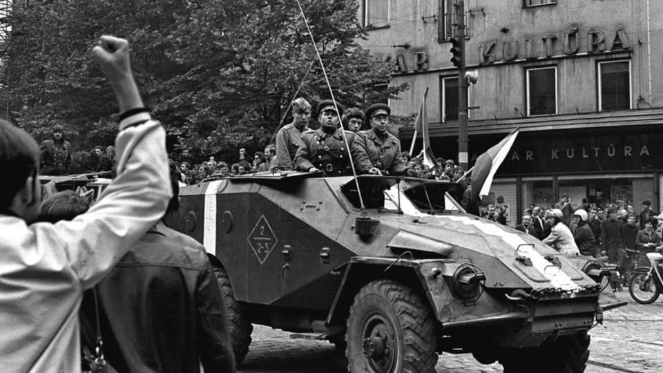 Foto: Josef Hník,  de la exhibición 'Invasión Soviética-Agosto de 1968'
