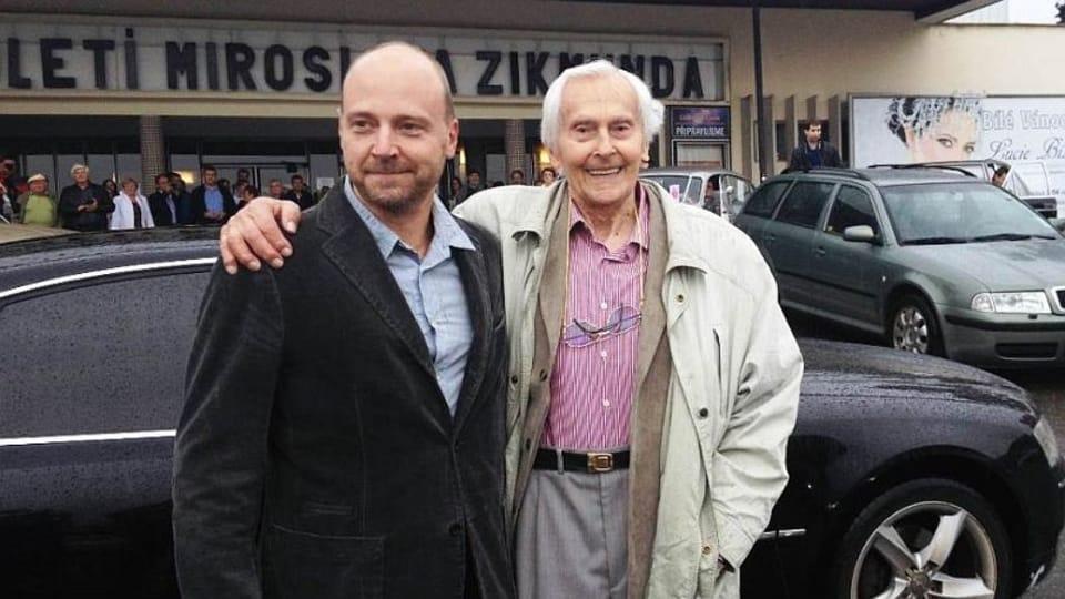 Pavel Horký y Miroslav Zikmund,  foto: Roman Verner,  ČRo