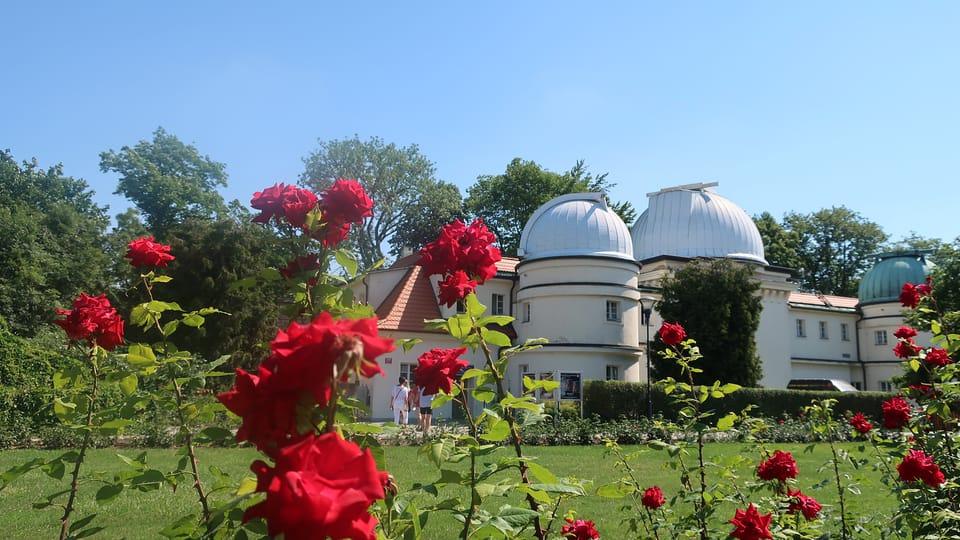 El observatorio de Štefánik,  en Petřín,  foto: Martina Bílá