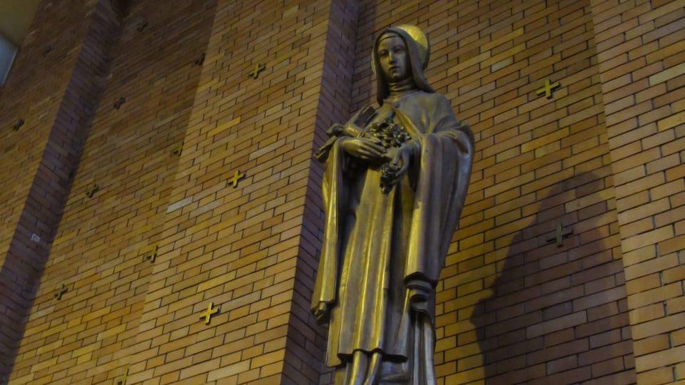 Santa Ludmila,  el interior de la iglesia del Sagrado Corazón en Praga,  foto: Kristýna Maková