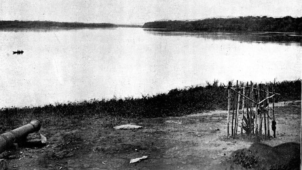 Rio Negro,   foto: E.S.Vráz,  de la colección del Museo Náprstek de Praga