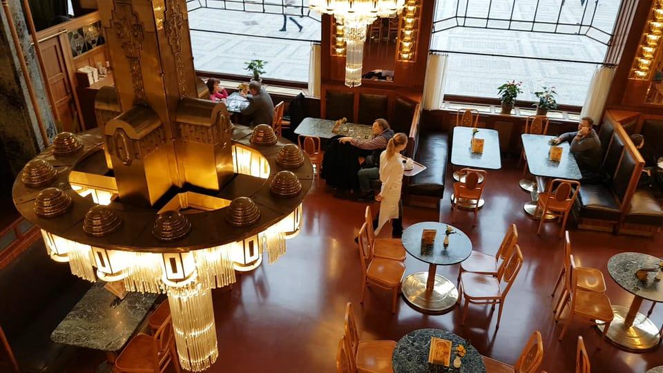 Kavárna v Obecním domě,  foto: Ondřej Tomšů