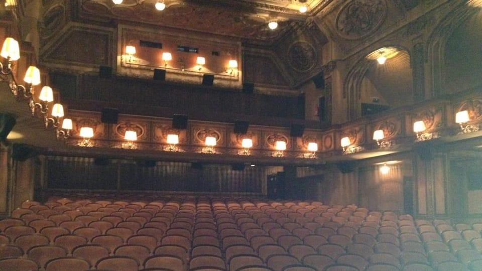 Sala del cine Lucerna,  foto: Ana Briceño