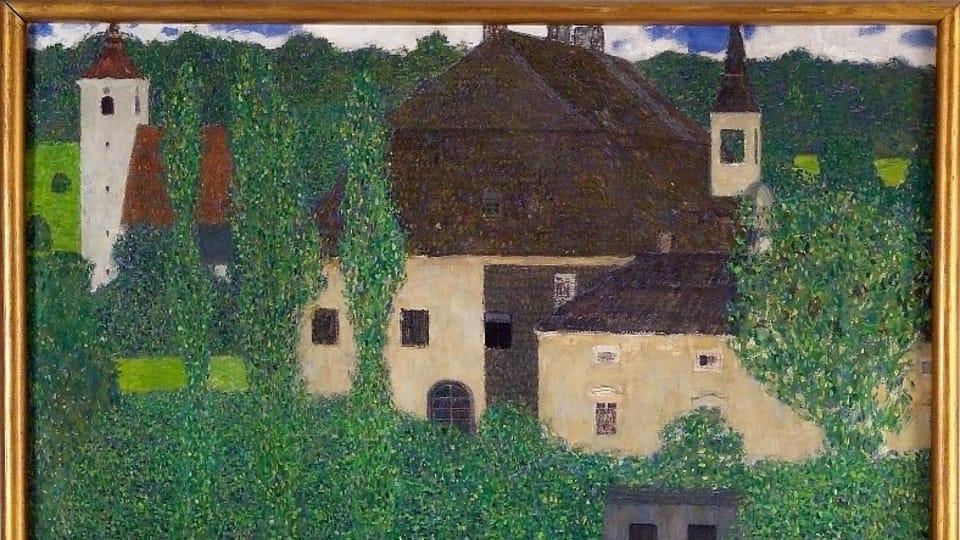 Un cuadro de Gustav Klimt,  foto: Archivo del Museo de Kampa
