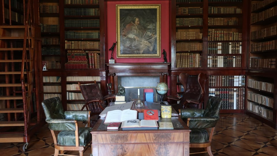La biblioteca de Kynžvart,  foto: Martina Schneibergová