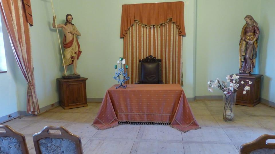 Sala de ceremonias,  foto: Klára Stejskalová