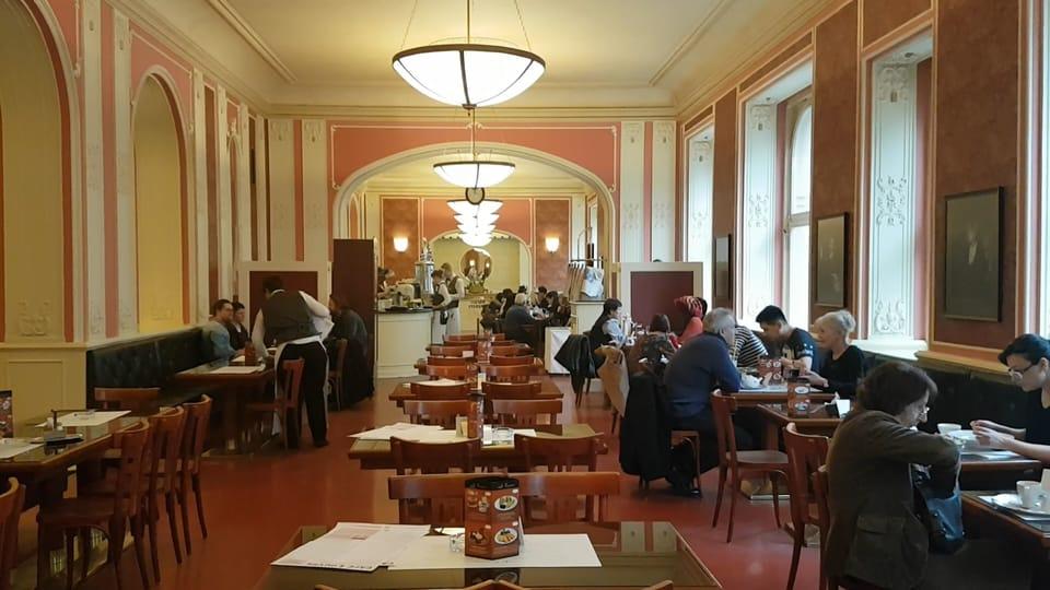 Café Louvre,  foto: Ondřej Tomšů