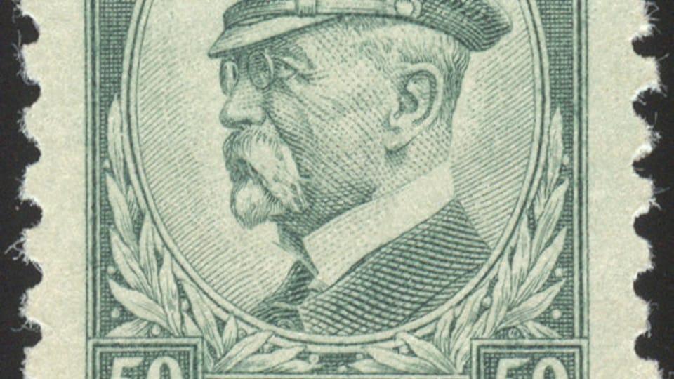 Tomáš Garrigue Masaryk,  photo: archive of Prague's Postal Museum