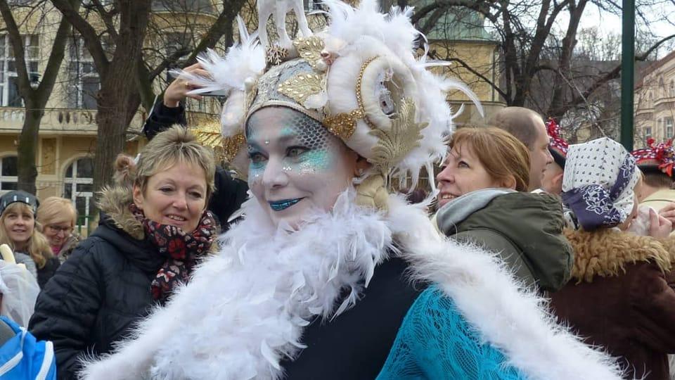 El carnaval de Praga vuelve a alegrar las calles de la capital checa,  foto: Klára Stejskalová