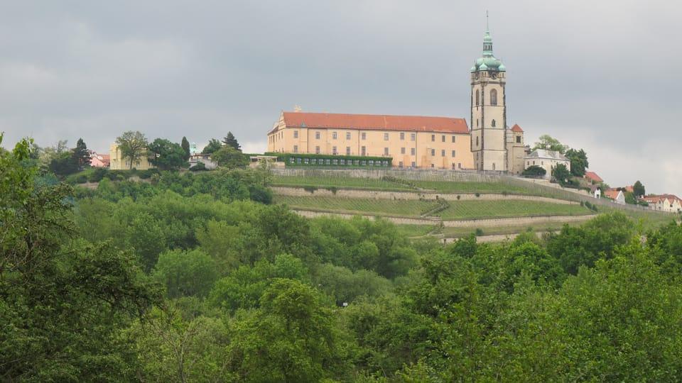El castillo de Mělník,  foto: Archivo de ČRo - Radio Prague International
