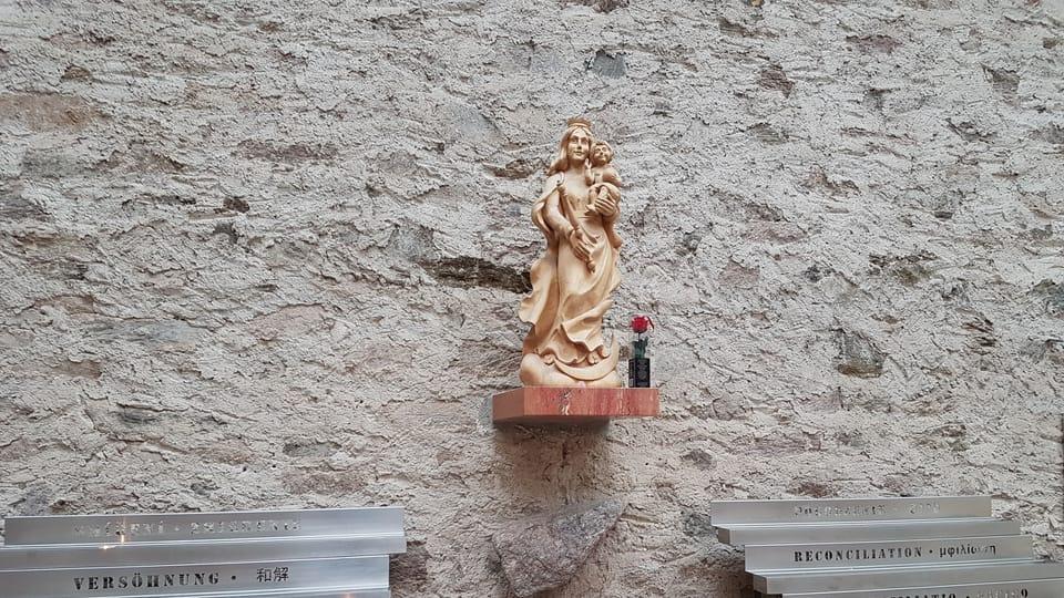 Estatua de Virgen María,  foto: Zdeňka Kuchyňová