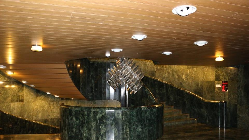 El interior de la Nueva Escena del Teatro Nacional,  de Praga,  foto: Dominika Bernáthová
