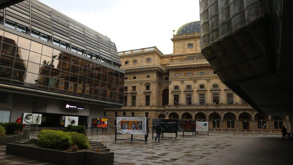 La Nueva Escena del Teatro Nacional,  de Praga,  foto: Dominika Bernáthová