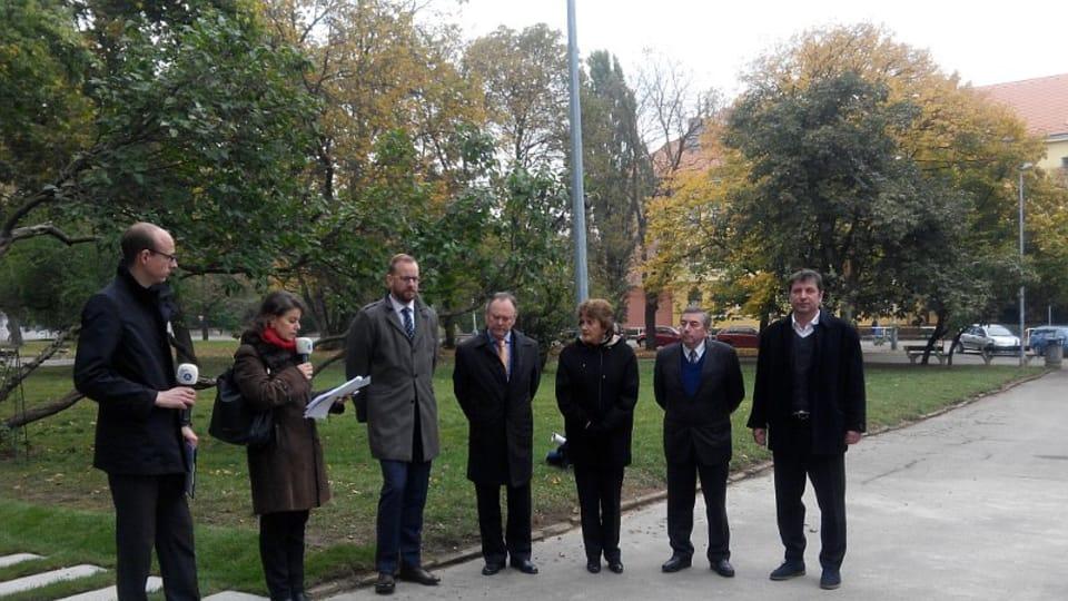 La ceremonia de homenaje a Bernardo O´Higgins