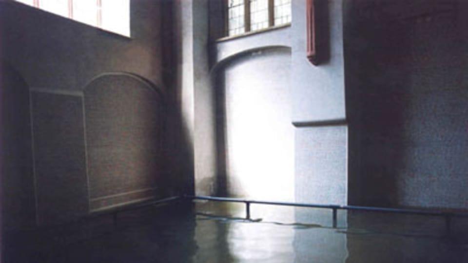 Sinagoga de Pinkas,  inundaciones de 2002