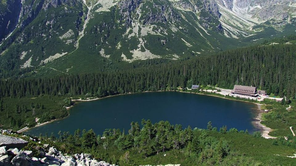 Los montes Tatras antes ...,  foto: Jerzy Opioła,  Creative Commons 3.0